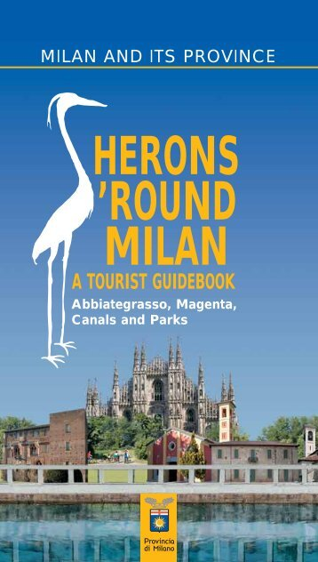 herons round milan a tourist guidebook