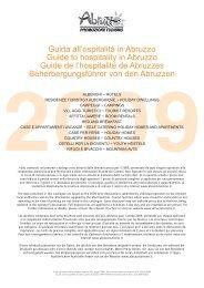 Guida all'ospitalità in Abruzzo Guide to hospitality in Abruzzo Guide ...