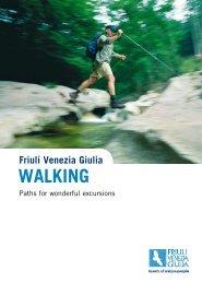 Friuli Venezia Giulia WALKING