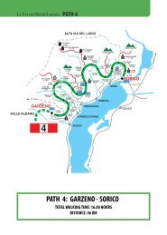 PATH 4: GARZENO - SORICO