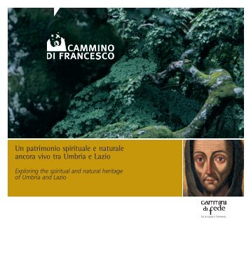 Brochure cammino Francesco
