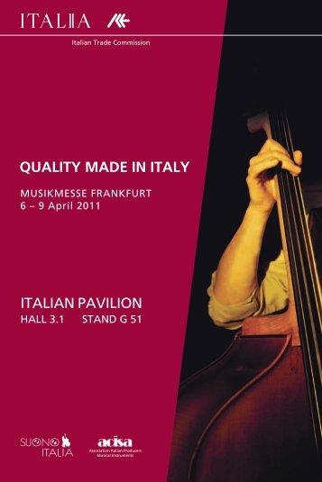 QuALITY MADE IN ITALY - Italienisches Institut für Außenhandel