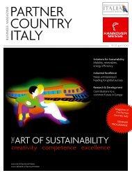 Partner Country Italy - Italienisches Institut für Außenhandel