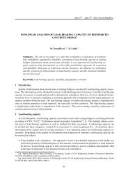 nonlinear analysis of load-bearing capacity of reinforced concrete ...