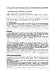 Zpráva o činnosti za rok 2006 - ÚTAM AV ČR, vvi - Akademie věd ČR