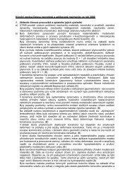 Zpráva o činnosti za rok 2000 - ÚTAM AV ČR, vvi