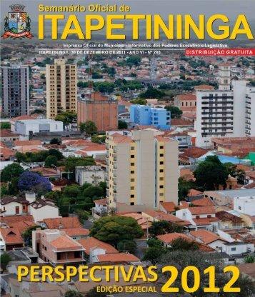 cidade inovadora - Prefeitura Municipal de Itapetininga - Governo ...
