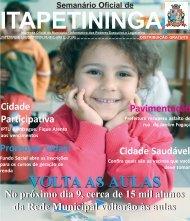 pag 1.pmd - Prefeitura Municipal de Itapetininga - Governo do ...
