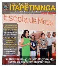 distrito da conceição ganha unidade escolar municipal - Prefeitura ...