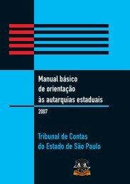 Manual Básico de Orientações às Autarquias Estaduais - Prefeitura ...