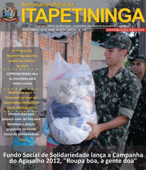 PÁGINA - Prefeitura Municipal de Itapetininga