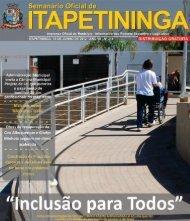 Projeto - Prefeitura Municipal de Itapetininga - Governo do Estado ...