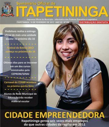 Foto da Semana - Prefeitura Municipal de Itapetininga