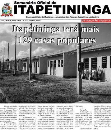 Itapetininga terá mais 129 casas populares Itapetininga terá mais ...