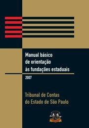 Manual básico de orientação às fundações estaduais - Prefeitura ...