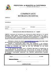 PP 95 - Materiais de construção CDHU - Prefeitura Municipal de ...