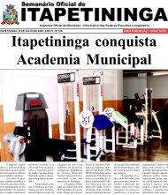 Itapetininga conquista Academia Municipal - Prefeitura Municipal de ...