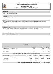 Anexo II - Planejamento Orçamentário - Prefeitura Municipal de ...