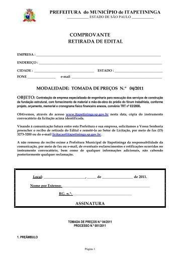 TP 04 - Fundação Forum Trabalhista - Prefeitura Municipal de ...
