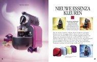 Met de nieuwe Essenza collectie blaast Nespresso de hippe kleuren ...