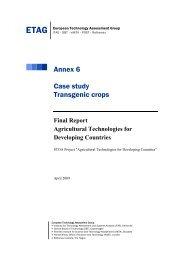 Annex 6: Case study - ITAS