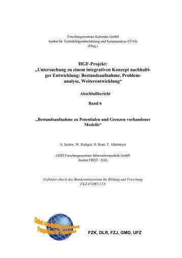 Bestandsaufnahme zu Potentialen und Grenzen ... - ITAS - FZK