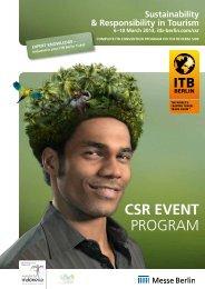 CSR EVENT Program - ITB Berlin