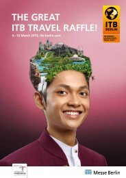 The greaT ITB Travel raffle! - ITB Berlin