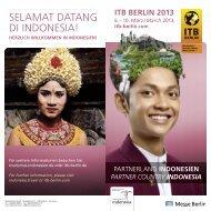 SELAMAT DATANG DI INDONESIA! - ITB Berlin