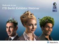 ITB Exhibitor Webinar Januar 2013 Englisch (PDF, 1,7 MB) - ITB Berlin