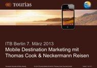 Mobile Destination Marketing With Thomas Cook & Neckermann