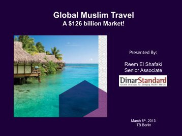 Global Muslim Travel - ITB Berlin Kongress
