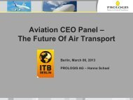 Aviation CEO Panel - ITB Berlin Kongress