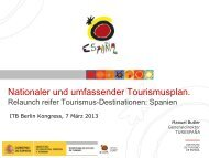 Manuel Buttler: Relaunch of nature Tourism - ITB Berlin