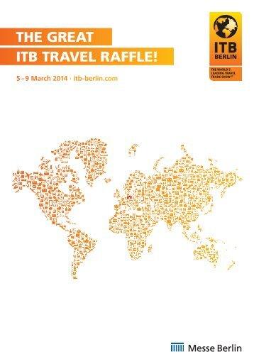 ITB Travel Raffle Sponsoring Broschure englisch (PDF, 6 ... - ITB Berlin