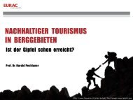 Harald Pechlaner: Sustainable Destination Mountain - ITB Berlin ...