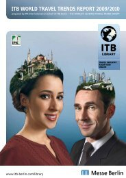 ITB World Travel Trends Report 2009/2010 (PDF, 443.3 ... - ITB Berlin