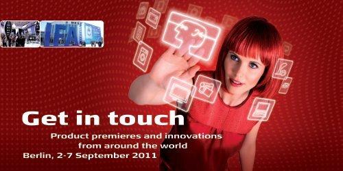Get in touch - ITB Berlin Kongress
