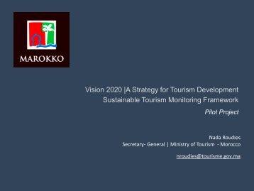 Advancing Sustainable Tourism: Nada Roudies (PDF, 586.7 kB)