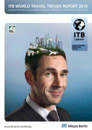 World Travel Trend Report 2010 - ITB Berlin