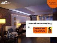 Deutschlands erstes Hotel-Outlet - ITB Berlin Kongress