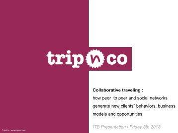 Collaborative Traveling - ITB Berlin Kongress