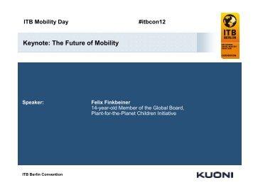 0903 Mobility Day 1050 Finkbeiner en - ITB Berlin Kongress