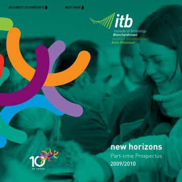 new horizons - Institute of Technology Blanchardstown