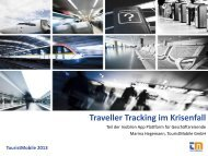 Mobiles Travel Risk Management - ITB Berlin Kongress
