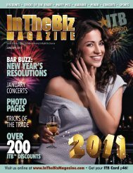 ITB - Jan/2011 - InTheBiz Magazine