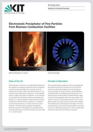 Electrostatic Precipitators - KIT
