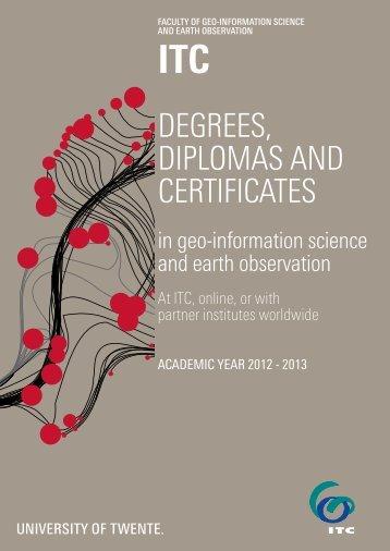 ITC Education Brochure 2012-2013