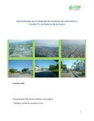 Recomendações para a integração do transporte não motorizado ...