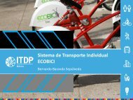 Sistema de Transporte Individual ECOBICI